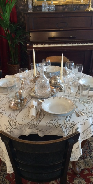 Spise bord alla 1910